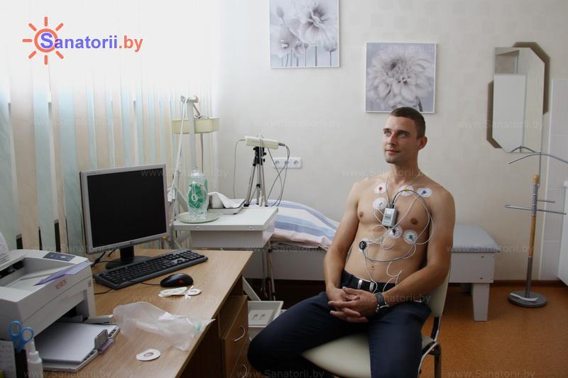 Санатории Белоруссии Беларуси - санаторий Сосны - Холтеровское мониторирование