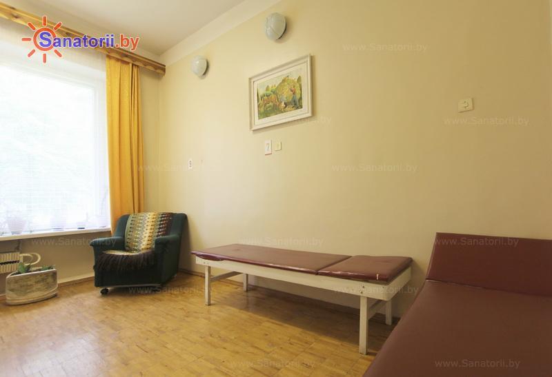 Санатории Белоруссии Беларуси - оздоровительный комплекс Белино - Озокерито-парафинолечение