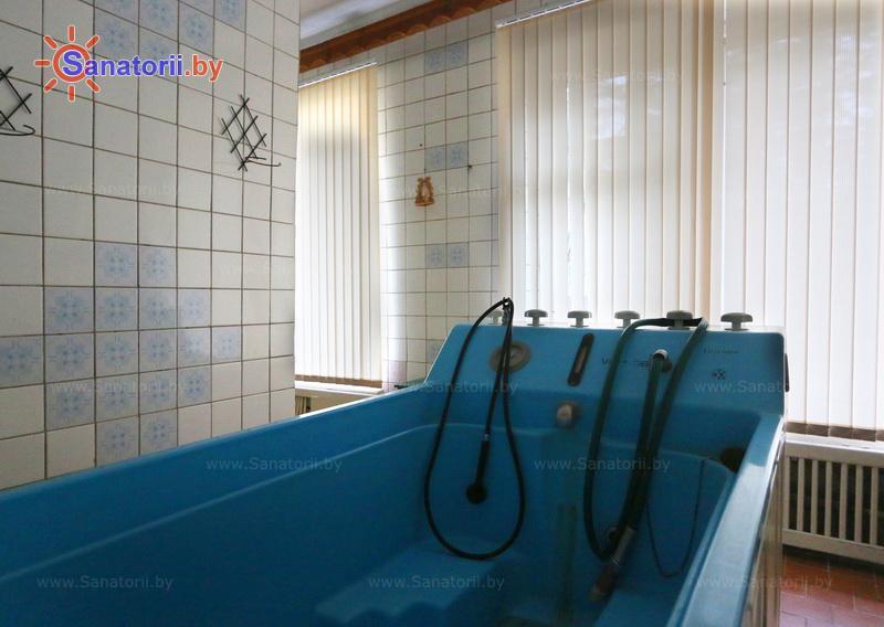 Санатории Белоруссии Беларуси - оздоровительный комплекс Белино - Душ-массаж подводный