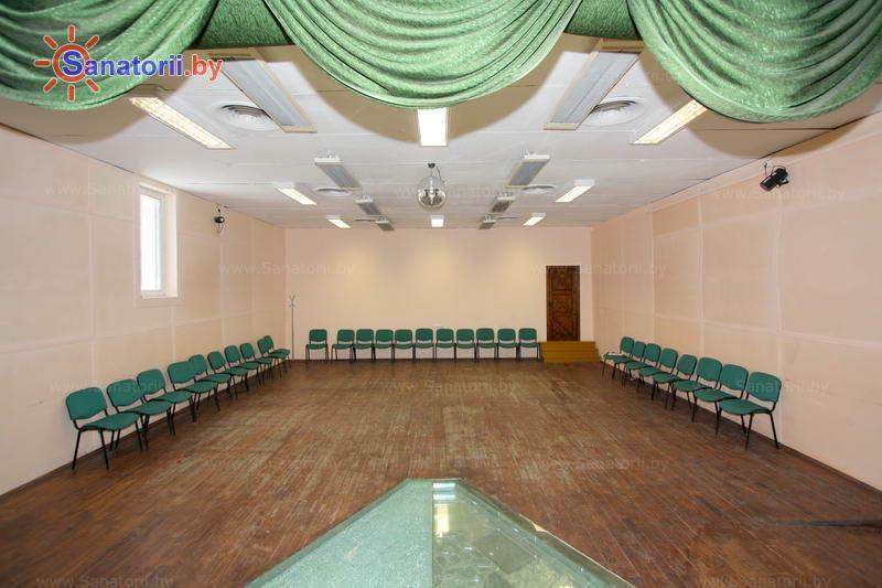 Санатории Белоруссии Беларуси - санаторий Березина - Танцевальный зал