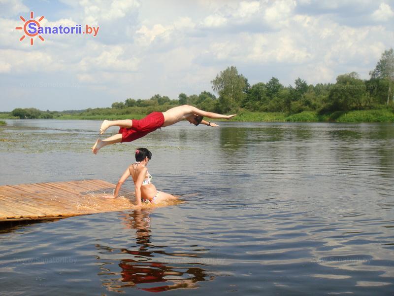 Санатории Белоруссии Беларуси - санаторий Березина - Водоём