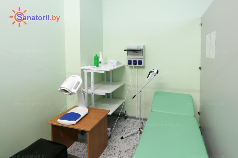 Санатории Белоруссии Беларуси - санаторий Березка - Светолечение