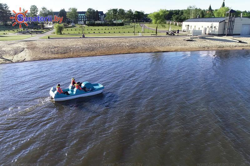 Санатории Белоруссии Беларуси - санаторий Березка - Прокат лодок