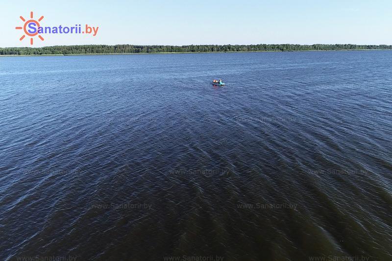 Санатории Белоруссии Беларуси - санаторий Березка - Водоём