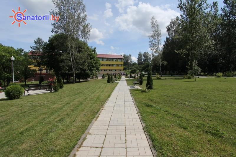 Санатории Белоруссии Беларуси - санаторий Железняки - Территория и природа