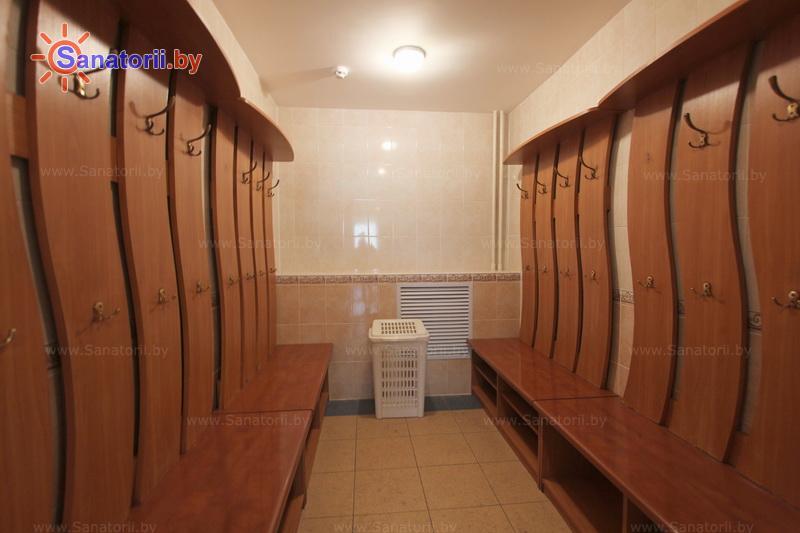 Санатории Белоруссии Беларуси - санаторий Железняки - Сауна финская