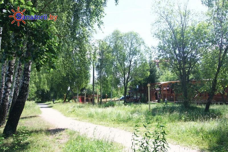 Санатории Белоруссии Беларуси - оздоровительный центр Лазурный - Территория и природа
