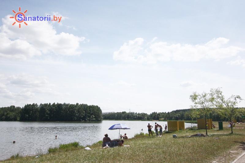 Санатории Белоруссии Беларуси - оздоровительный центр Лазурный - Пляж