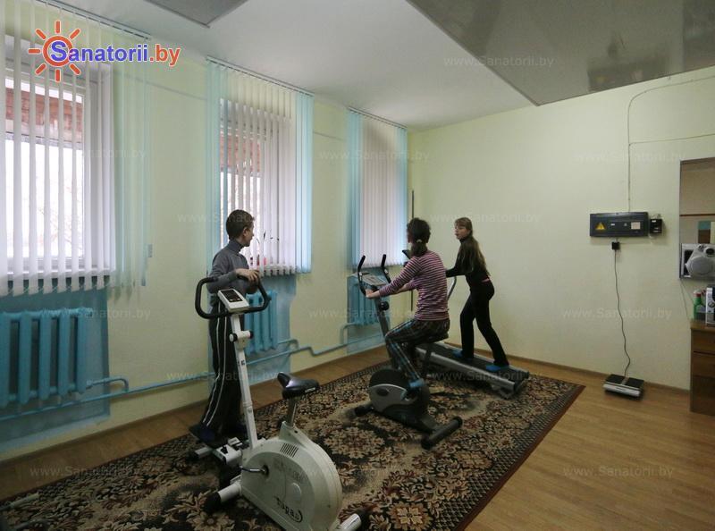 Санатории Белоруссии Беларуси - оздоровительный центр Лазурный - Тренажерный зал (механотерапия)