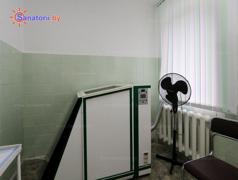 Санатории Белоруссии Беларуси - оздоровительный центр Лазурный - Ванна сухая углекислая