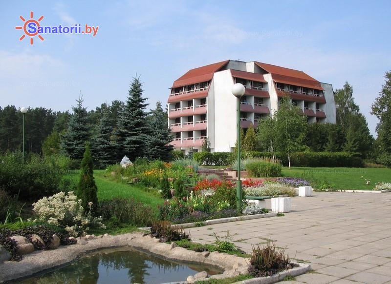 Санатории Белоруссии Беларуси - санаторий Лазурный - Территория и природа