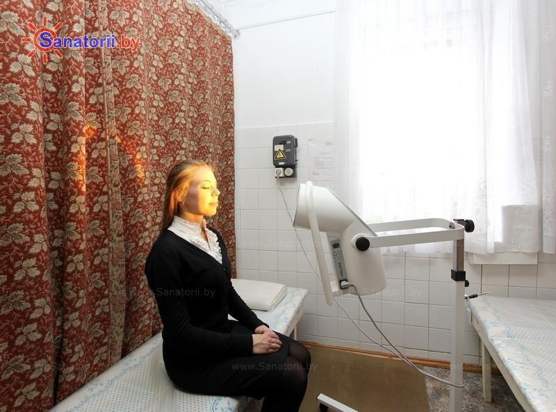 Санатории Белоруссии Беларуси - оздоровительный центр Лазурный - Светолечение