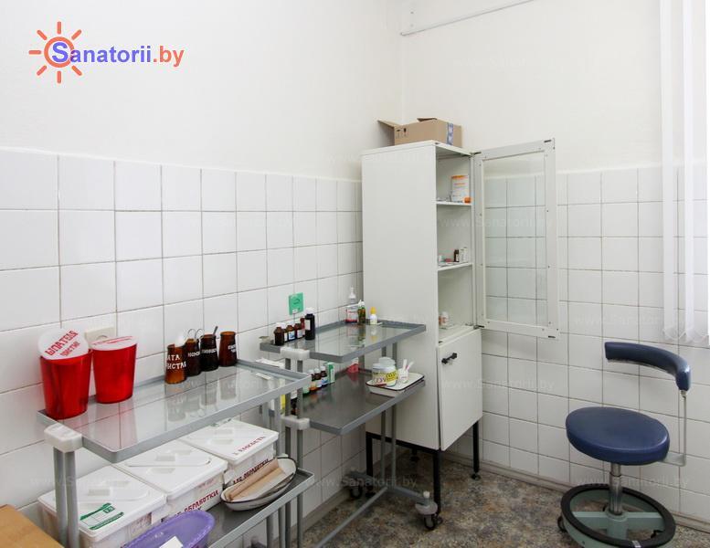 Санатории Белоруссии Беларуси - санаторий Лазурный - Процедурный кабинет