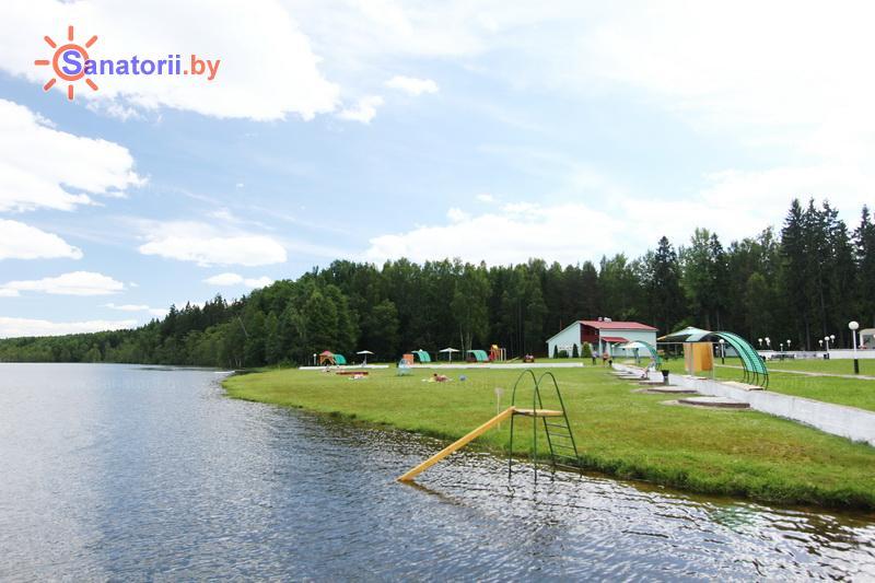 Санатории Белоруссии Беларуси - санаторий Лесное - Пляж