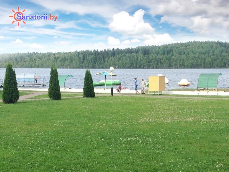 Санатории Белоруссии Беларуси - санаторий Лесное - Территория и природа