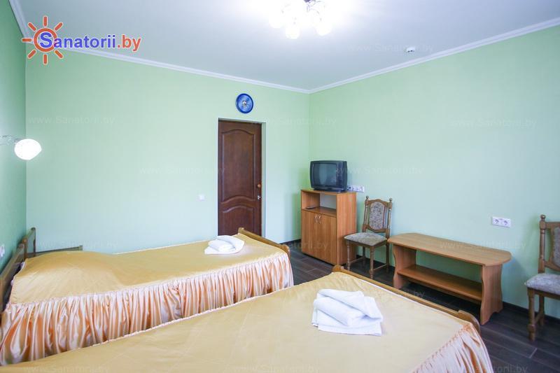 Санатории Белоруссии Беларуси - санаторий Лесное - двухместный однокомнатный twin (главный корпус)