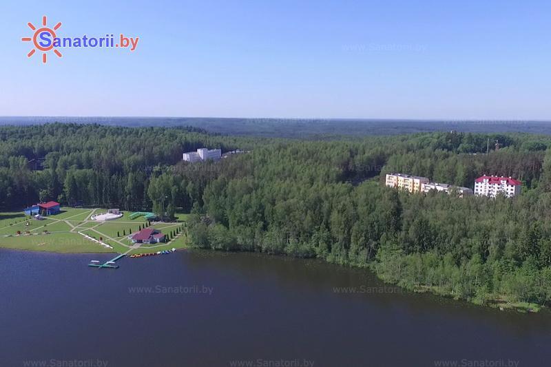 Санатории Белоруссии Беларуси - санаторий Лесное - Водоём