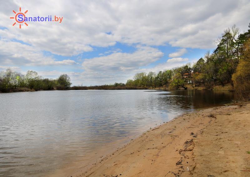 Санатории Белоруссии Беларуси - санаторий Машиностроитель - Пляж