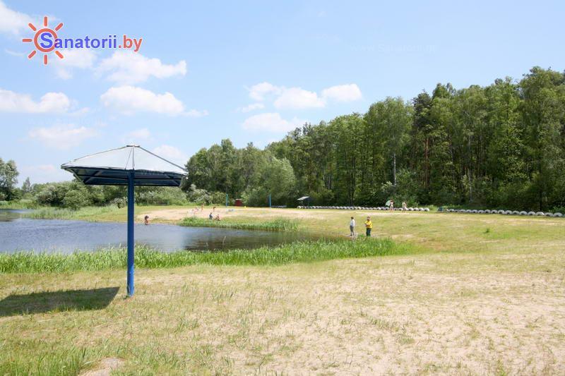 Санатории Белоруссии Беларуси - санаторий Надзея - Пляж