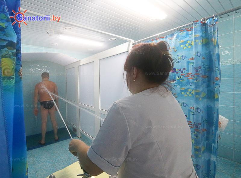 Санатории Белоруссии Беларуси - санаторий Надзея - Душ струевой (душ Шарко)