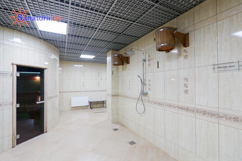 Санатории Белоруссии Беларуси - санаторий Надзея - Сауна финская