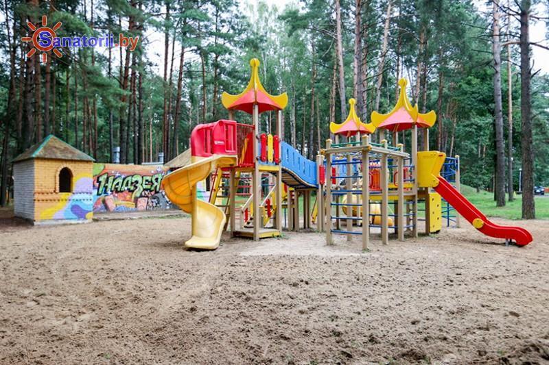 Санатории Белоруссии Беларуси - санаторий Надзея - Детская площадка