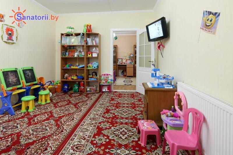 Санатории Белоруссии Беларуси - санаторий Надзея - Детская комната