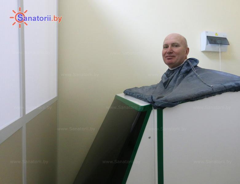 Санатории Белоруссии Беларуси - санаторий Приморский - Ванна сухая углекислая