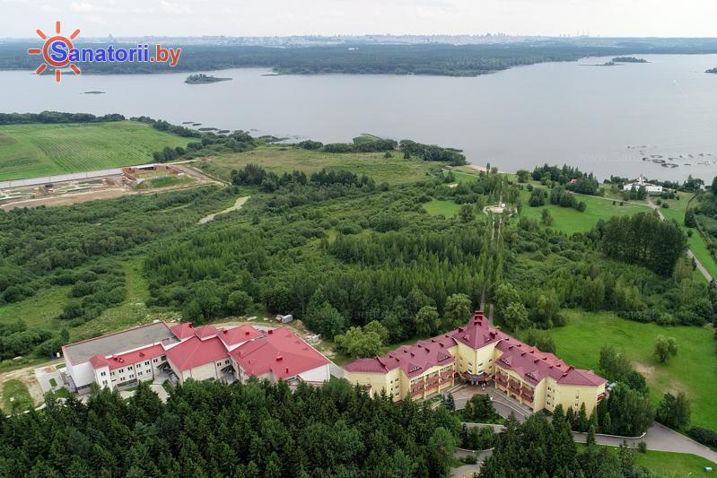 Санатории Белоруссии Беларуси - санаторий Приморский - Территория и природа