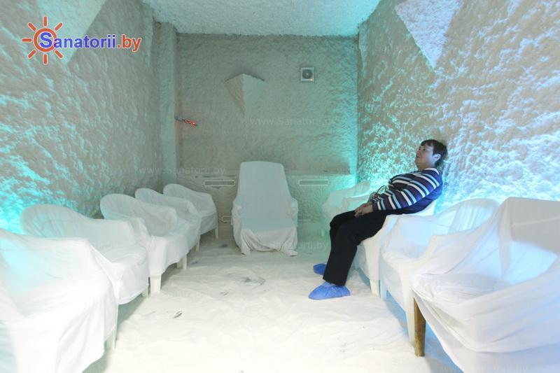 Санатории Белоруссии Беларуси - санаторий Пралеска - Галотерапия