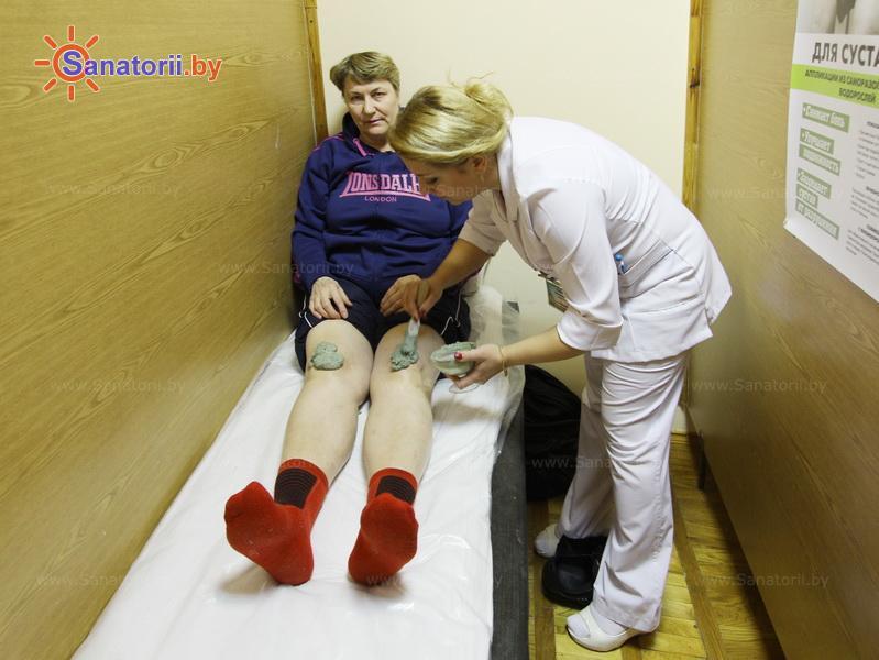 Санатории Белоруссии Беларуси - санаторий Пралеска - Грязелечение (пелоидотерапия)