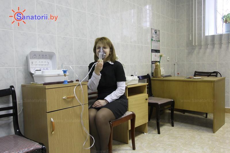 Санатории Белоруссии Беларуси - санаторий Пралеска - Ингаляции (аэрозольтерапия)