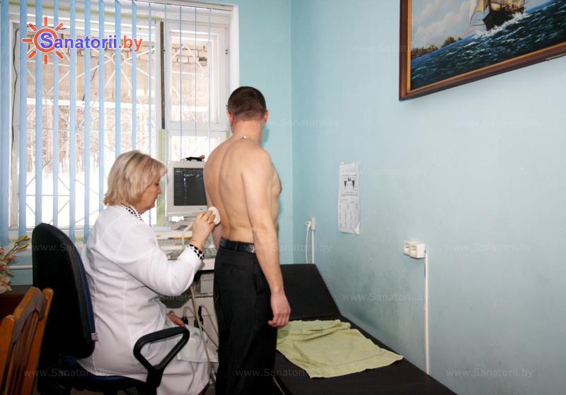 Санатории Белоруссии Беларуси - санаторий Пралеска - Ультразвуковая диагностика