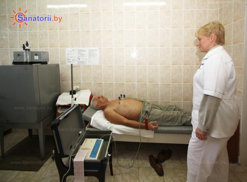 Санатории Белоруссии Беларуси - санаторий Пралеска - Электрокардиография