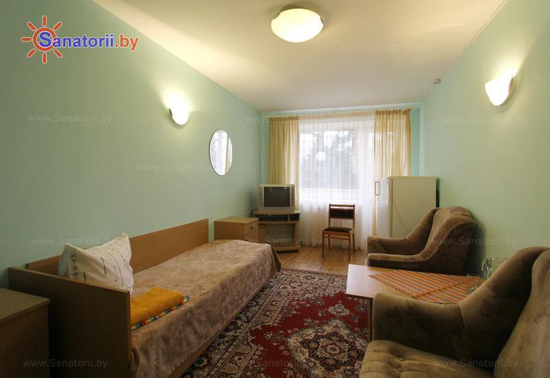 Санатории Белоруссии Беларуси - санаторий Пралеска - двухместный однокомнатный (спальный корпус)