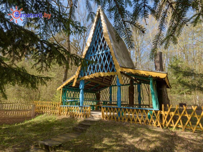 Санатории Белоруссии Беларуси - санаторий Пралеска - Территория и природа