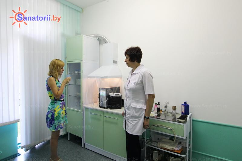 Санатории Белоруссии Беларуси - санаторий Серебряные ключи - Озонотерапия