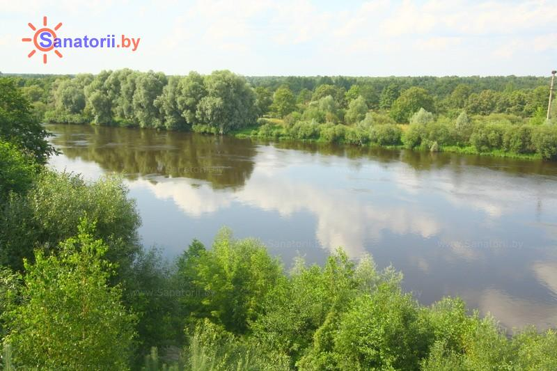 Санатории Белоруссии Беларуси - санаторий Серебряные ключи - Водоём