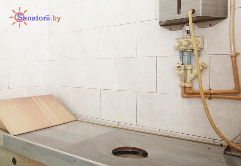 Санатории Белоруссии Беларуси - санаторий Серебряные ключи - Орошения вагинальные минеральной водой