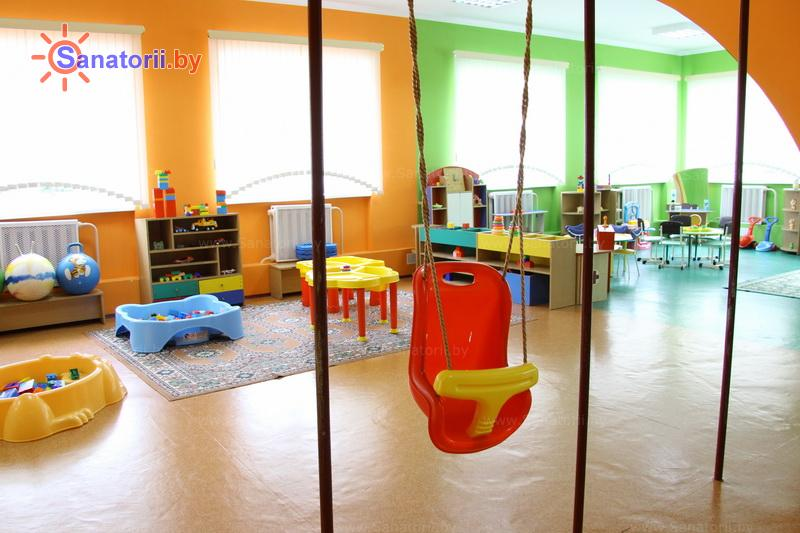 Санатории Белоруссии Беларуси - санаторий Серебряные ключи - Детская комната