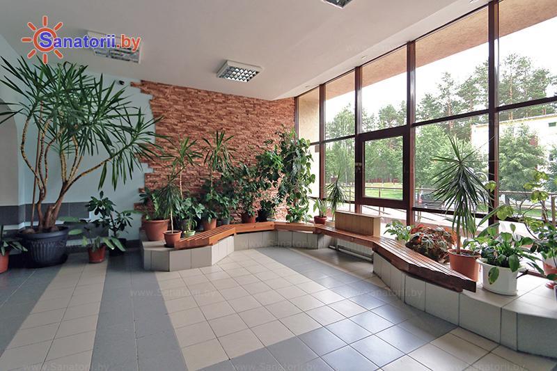 Санатории Белоруссии Беларуси - санаторий Серебряные ключи - Регистратура