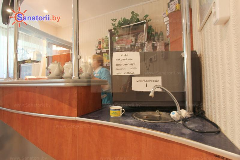 Санатории Белоруссии Беларуси - оздоровительный комплекс Сосновый бор - Бювет минеральной воды