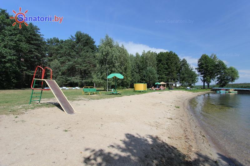 Санатории Белоруссии Беларуси - оздоровительный комплекс Сосновый бор - Пляж