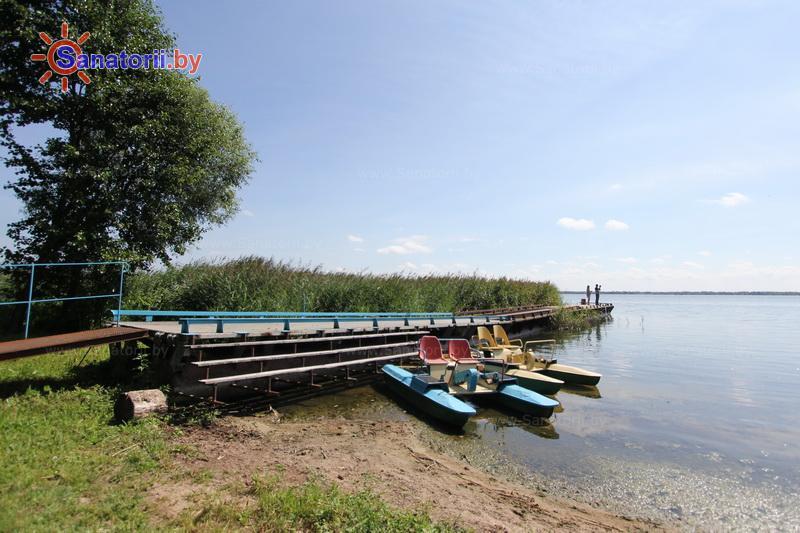 Санатории Белоруссии Беларуси - оздоровительный комплекс Сосновый бор - Прокат лодок