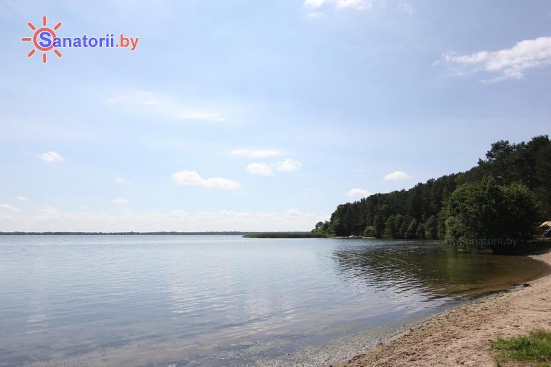 Санатории Белоруссии Беларуси - оздоровительный комплекс Сосновый бор - Водоём