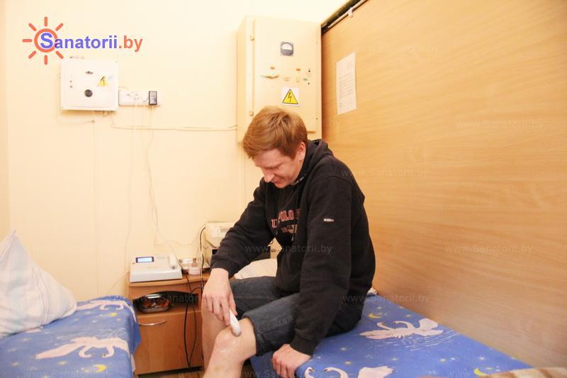 Санатории Белоруссии Беларуси - оздоровительный комплекс Сосновый бор - Лазерная терапия