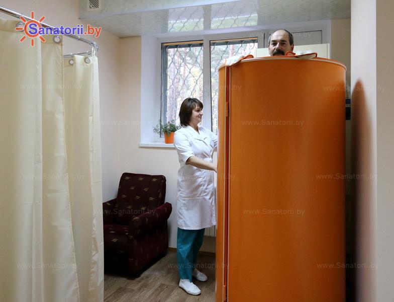 Санатории Белоруссии Беларуси - оздоровительный комплекс Сосновый бор - Криотерапия