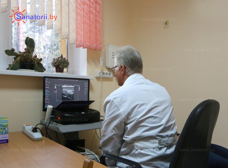 Санатории Белоруссии Беларуси - оздоровительный комплекс Сосновый бор - Ультразвуковая диагностика