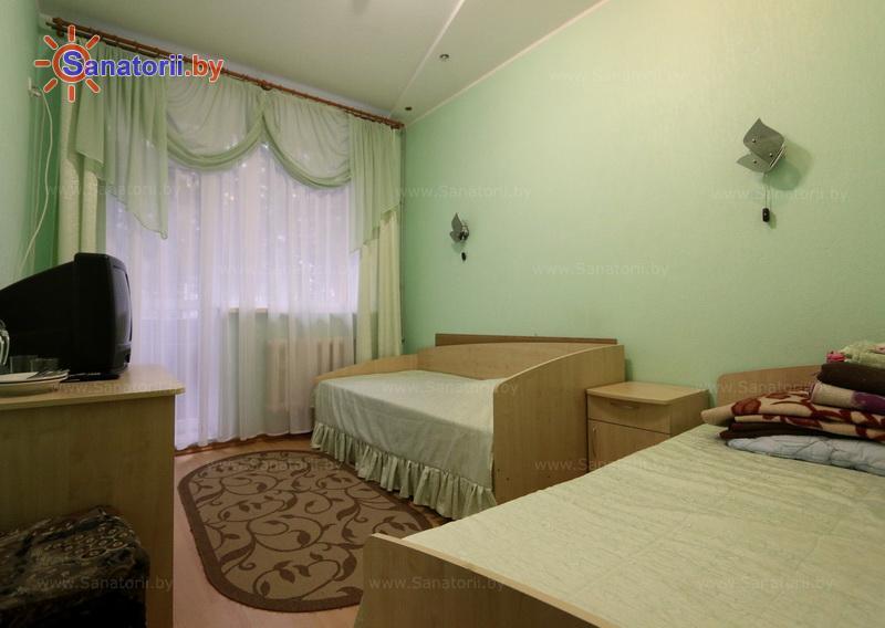 Санатории Белоруссии Беларуси - оздоровительный комплекс Сосновый бор - двухместный в блоке (2+2) (главный корпус)