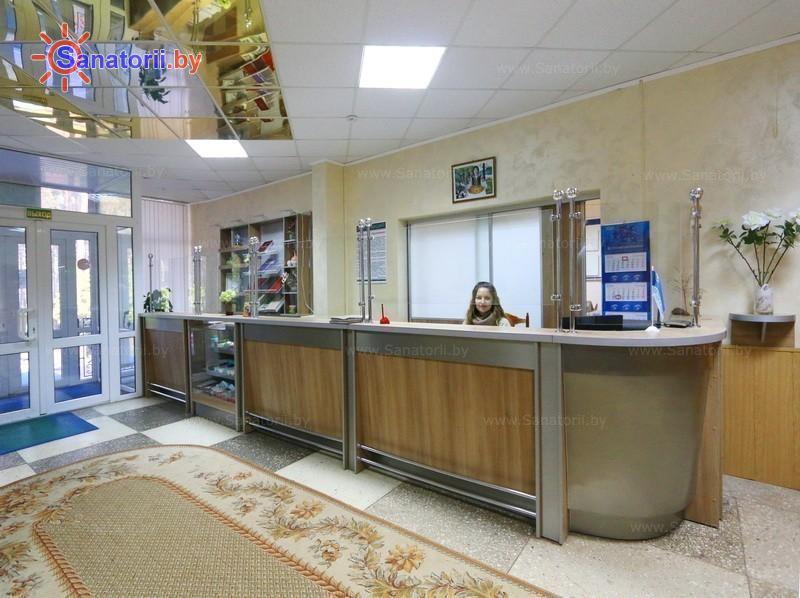Санатории Белоруссии Беларуси - оздоровительный комплекс Сосновый бор - Регистратура